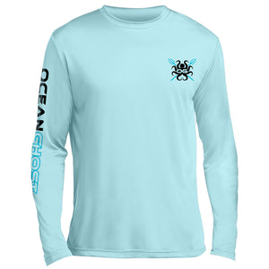 Crossed Trident UV Performance Sky Blue