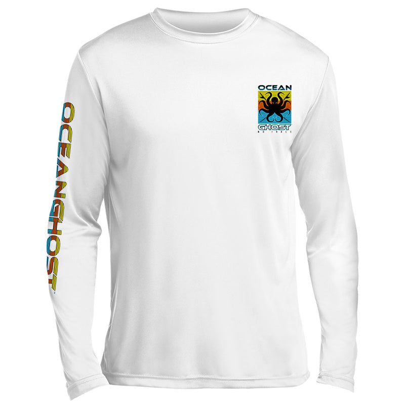 Surfboards Color Block UV Performance White