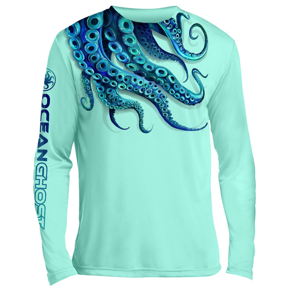 Tentacles UV Performance Mint Green