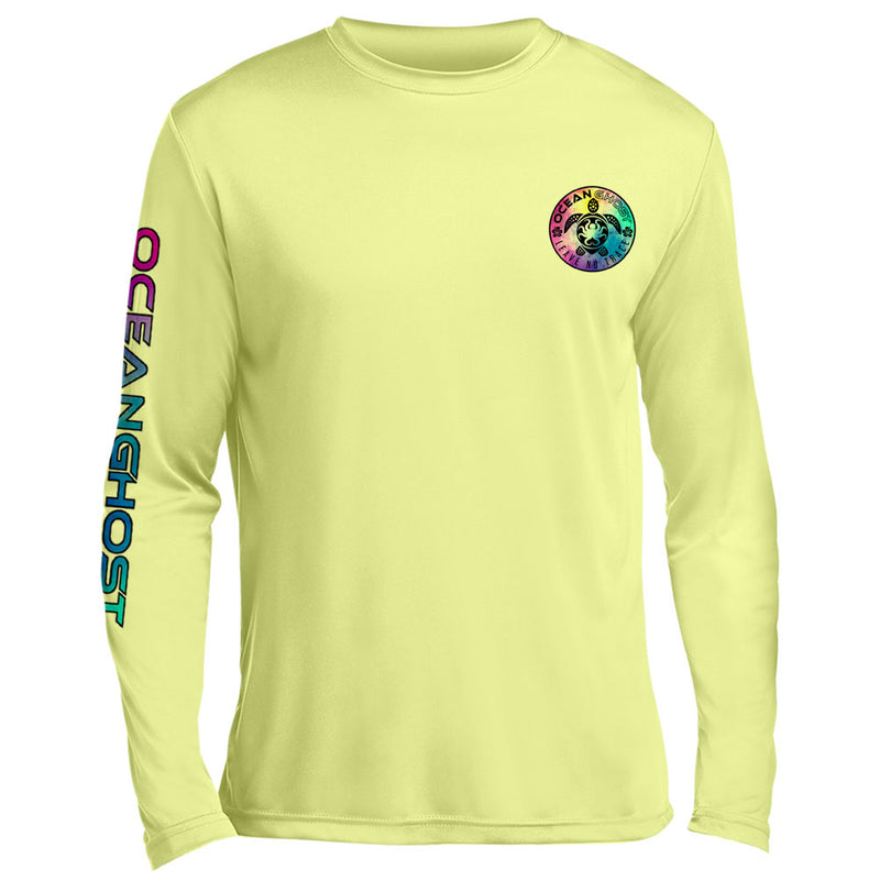 Tie Dye Turtle UV Performance Light Yellow