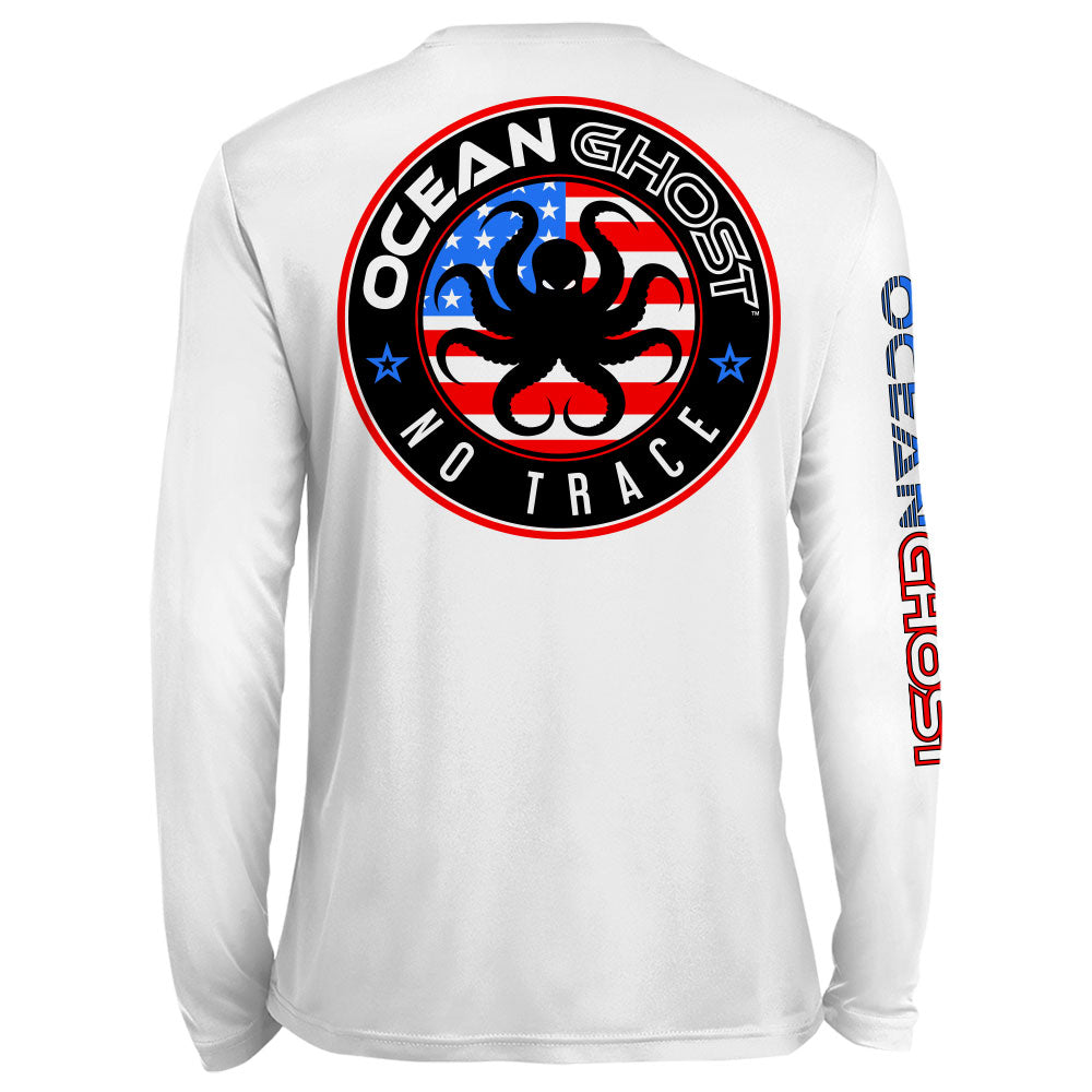USA Logo UV Performance White