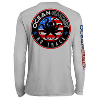 USA Logo UV Performance Grey