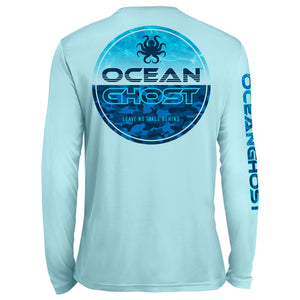Water Camo UV Performance Sky Blue