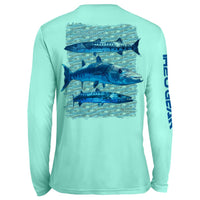Barracuda Repeat Pattern UV Performance Mint