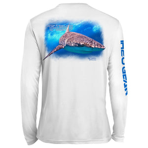 Classic Shark UV Performance White