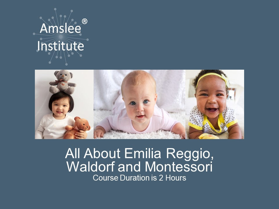 All About Reggio Emilia, Waldorf and Montessori