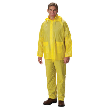 PIP 201-100 - Falcon Base10 Protective Rainsuit, Yellow