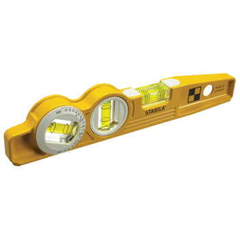 STABILA 25360 Magnetic Torpedo Level with V groove design