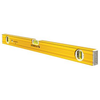 STABILA 29224, 29248 or 29272 - Magnetic Spirit Plate Level