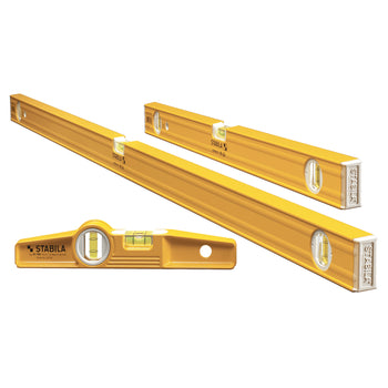 STABILA 29824 Torpedo and Spirit Plate Level Set