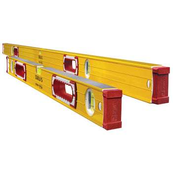 "STABILA 37532 Plate Level set of 78"" and 32"" levels"