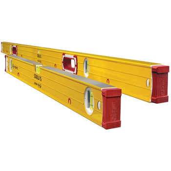 "STABILA 38532 2 Piece Magnetic Jamber Level Set 78"" and 32"" Type 196"