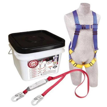 Compliance in a Can Light Roofer's Fall Protection Kit