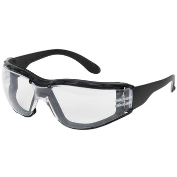 PIP Z12F - Bouton Optical Rimless Anti-Scratch and Anti-Fog Foam Padded Safety Glasses