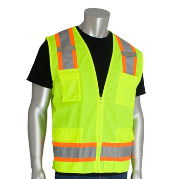 PIP 302-0500 - ANSI Hi-Vis Surveyors Reflective Safety Vest