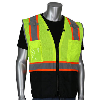 PIP 302-0650D - ANSI Hi-Vis Surveyors Reflective Safety Vest