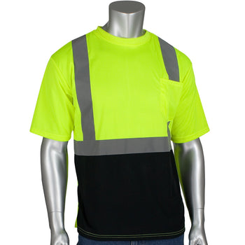PIP 312-1250B - ANSI Hi-Vis Short Sleeve Safety T-Shirt