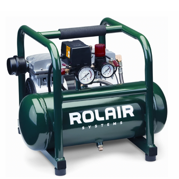 Rolair JC10 Plus - 1 HP Oil-Less Compressor