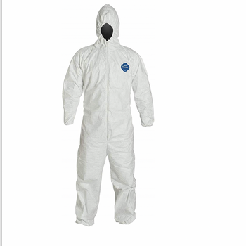 DuPont TY127S - Disposable White Tyvek Coverall Suit