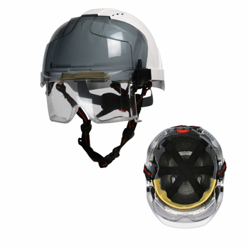 PIP 380-EVLV-CH - Lightweight Industrial Height Safety Helmet With 4-point Chin Strap