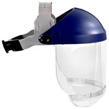 3M Headgear w/ Clear Chin Protector