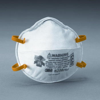 3M Particulate Respirator 8210, N95 - 20 Pack