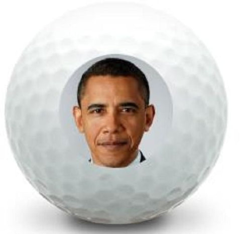 Golf Ball Kings Unique Printed Golf Balls - Obama Logo Golf Balls