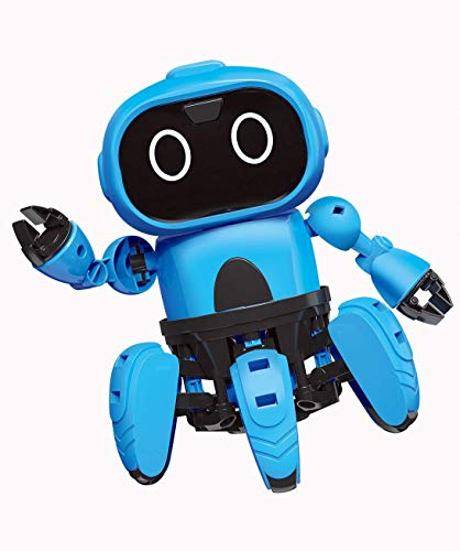 Bix Stem Robot Kits Take Apart Robots Gestural Sensing Diy Mechanical  Assembly Robot Building Set For Boys, Girls, Kids, Children