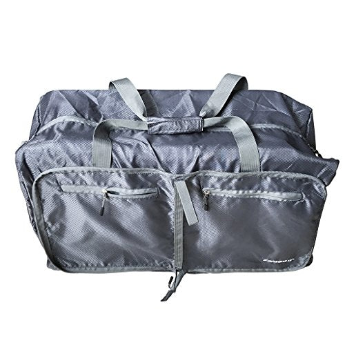 384ab0171f77 Zebaco] Folding Ripstop Multi Bag Packable 75L, Sports Duffel Backpack  Lightweight Foldable Luggage Travel Water Resistant Nylon Gym Bags With ...