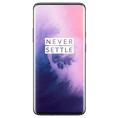 Oneplus 7 Pro GM1910 128GB, 6GB, Dual Sim, 6.67 inch, 48MP Main Lens Triple Camera, GSM Unlocked International Model,(Mirror Gray)
