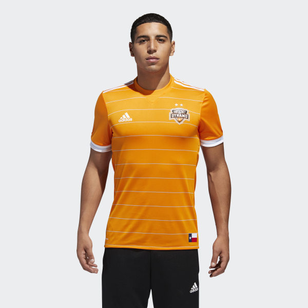 timeless design bae24 dcf9b HOUSTON DYNAMO HOME AUTHENTIC JERSEY