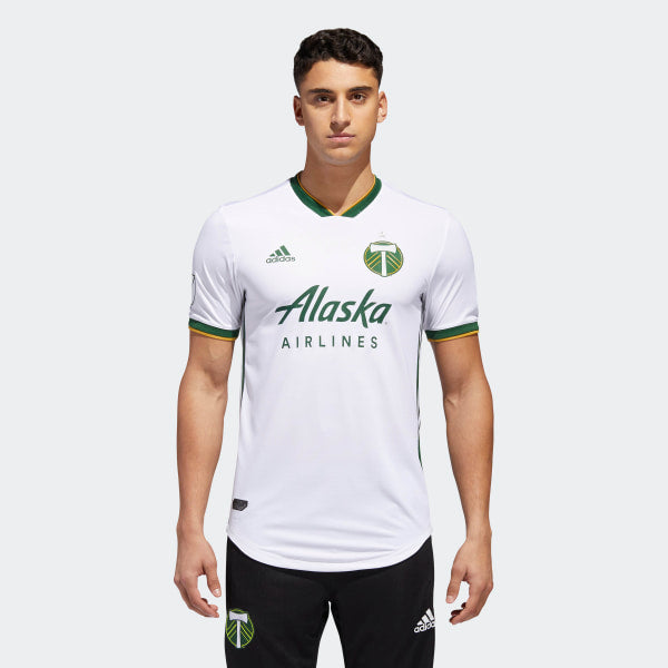 best service 2751b a04f0 PORTLAND TIMBERS AWAY AUTHENTIC JERSEY