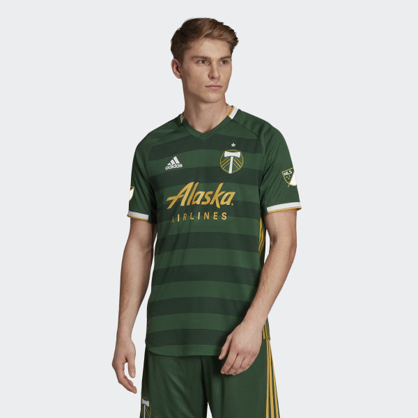 separation shoes 8c462 5147f PORTLAND TIMBERS HOME AUTHENTIC JERSEY
