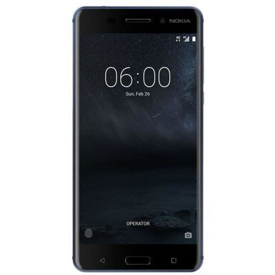 Nokia 6 - 32GB, 3GB RAM, 4G LTE, Tempered Blue
