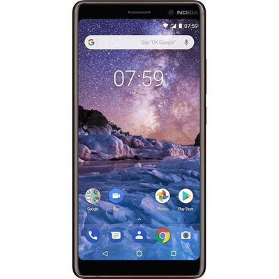 NOKIA 7 Plus Dual SIM, 64 GB, 4 GB RAM - Black