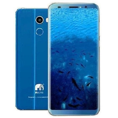 MIONE MI FINGERPRINT, 4GB RAM, 64GB ROM,4500MAH BATTERY - BLUE