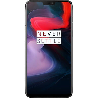 OnePlus 6 Dual Sim - 128GB, 8GB RAM, 4G LTE, Midnight Black
