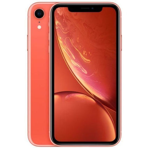 Apple iPhone XR Dual SIM With Face Time - 256GB, 4G LTE, Coral