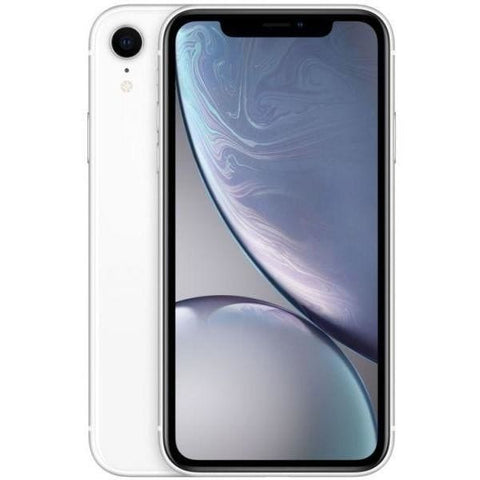 Apple iPhone XR Dual SIM With Face Time - 128GB, 4G LTE, White