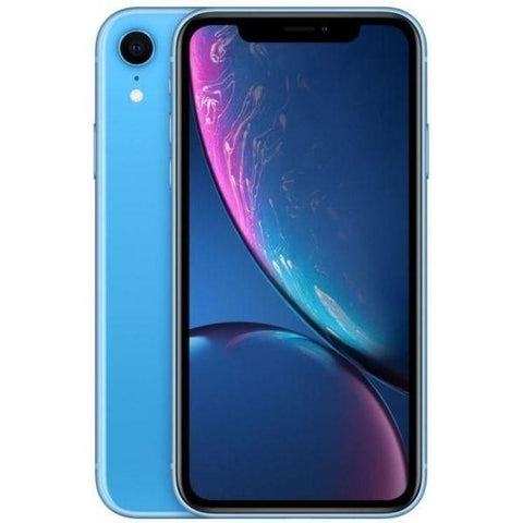 Apple iPhone XR Dual SIM With Face Time - 128GB, 4G LTE, Blue