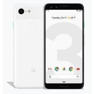 Google Pixel 3 - 64GB, 4GB RAM, 4G LTE, Clearly White
