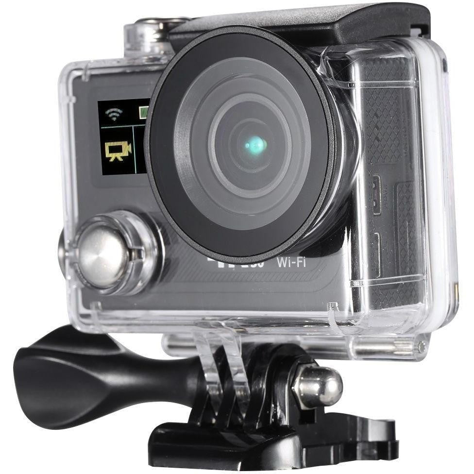 2Inch Dual Screen LCD Sports Action Camera Ultra HD 360 VR Play Wifi 4K  30fps 1080P 60fps 12MP 170° Wide-angle for High Definition Multimedia