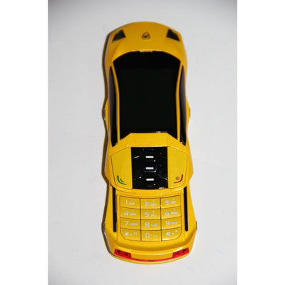 F8 MiNi Mobile Phone Slide Mobile(YELLOW,Camera,Dual SIM Card)