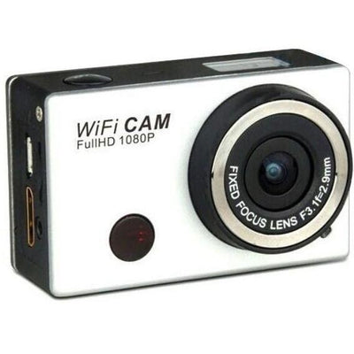 1080p Full HD Wifi sports action camera with built-in battery, wifi, waterproof