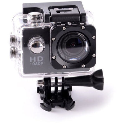 1080p Full HD 12MP CMOS H.264 Sports Action DV Camera Waterproof with accessories – BLACK