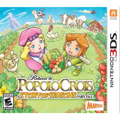 Return to PopoloCrois A STORY OF SEASONS Fairytale Nintendo 3DS by Nintendo