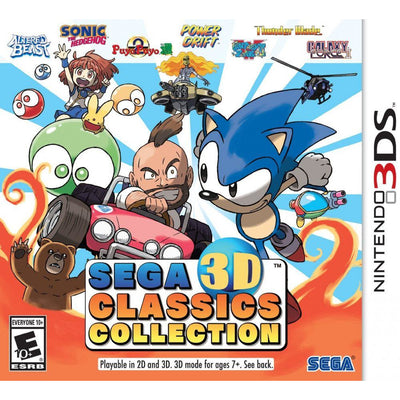 SEGA 3D CLASSICS COLLECTION (3DS NTSC)
