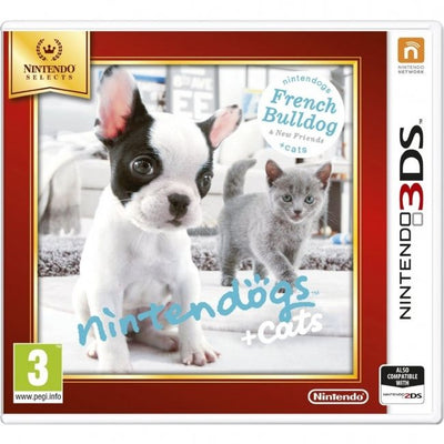 Nintendogs French Bulldog and New Friends   Cats by Nintendo, 2015 - Nintendo 3DS