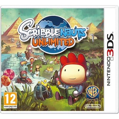 Scribblenauts Unlimited (Nintendo 3DS PAL)
