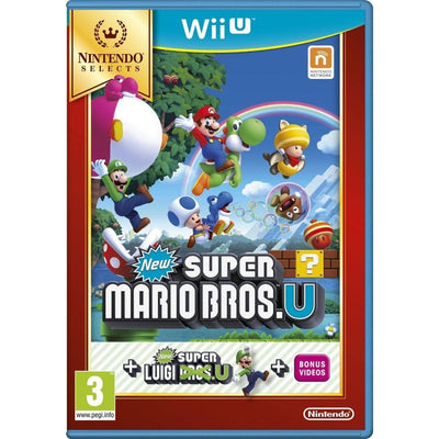 New Super Mario Bros. U and New Super Luigi U (PAL)